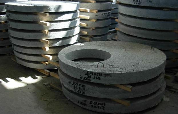 Железобетонные кольца цены размеры плиты перекрытия для чердака